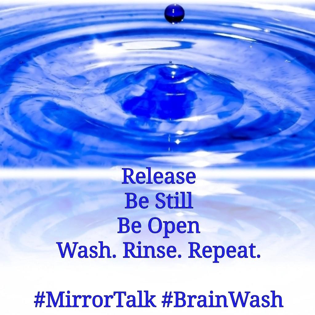 Mirror Talk Brain Wash
